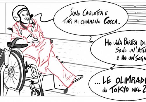 La storia di Carlotta, atleta paraolimpica della squadra Bocciabili